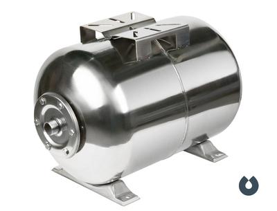 Гидроаккумулятор UNIPUMP 24 л (гор), корпус нерж. сталь