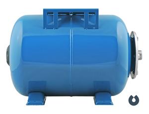 Гидроаккумулятор UNIPUMP 80 л (гор), корпус сталь