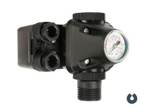 Реле давления с манометром UNIPUMP РМ5/3W