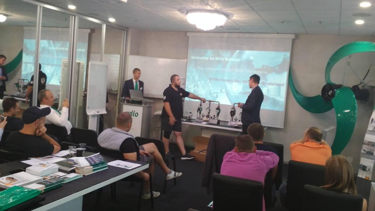 Презентация нового представительства в Беларуси